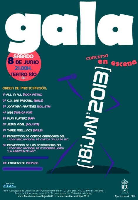 Gala ibijvn 2013 CARTEL